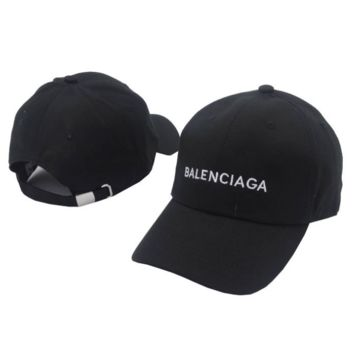 Balenciaga Cap Hat Embroidered Sports Baseball Cap Hat