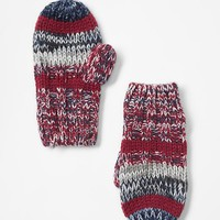 Gap Multi Color Stripe Mittens