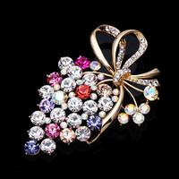 Korean Rhinestone Accessory Crystal Luxury Jewelry [6586057223]