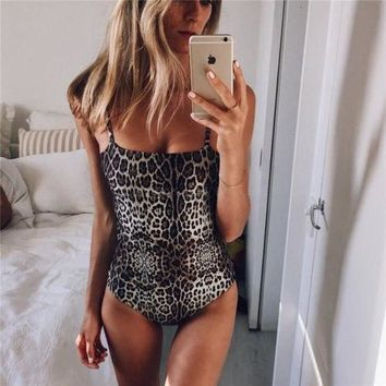 Womens High Waist 2018 Summer Lace One-Piece Suits Bandage Monokini Swimwear Swimsuit Bikini NEW Sexy Stylish