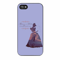 Disney Cinderella Quote iPhone 5s Case