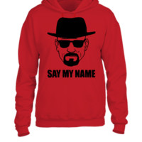 Breaking Bad: Say My Name T-shirt, - UNISEX HOODIE