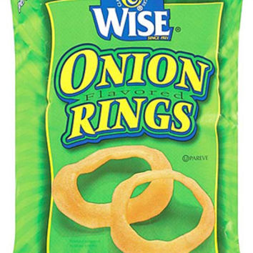Wise Onion Rings 5 oz Bags - Pack of 14