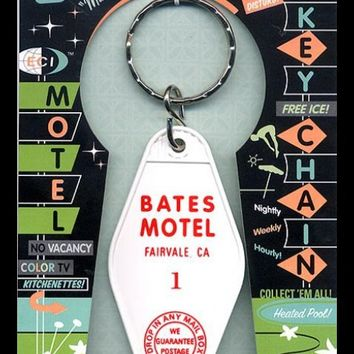 Bates Motel Retro Motel Room Keychain by Eldorado Club | Pinup Girl Clothing