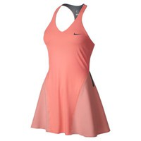 Nike Maria Sharapova Premier Women's Tennis Dress - Atomic Pink