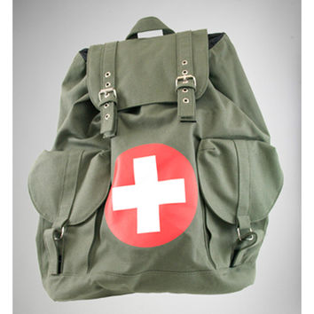 Medical Cross Deluxe Backpack