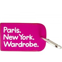 Flight 001 – Where Travel Begins.  Paris. New York. Wardrobe. Tag - Luggage Tags - All Products