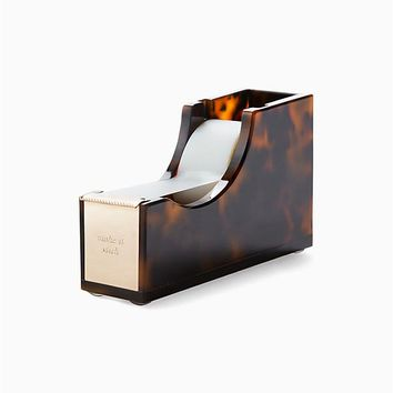Kate Spade New York Tortoise Tape Dispenser