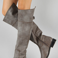 Breckelle Rider-82 Riding Thigh High Boot