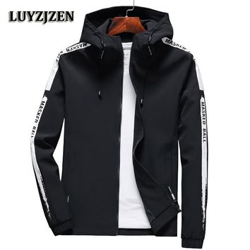 Trendy 2018 New Brand Men's Jackets Spring and Autumn Jacket Fashion Slim Quilted Coat Casual Black Jacket Plus Size Style Jaqueta K12 AT_94_13