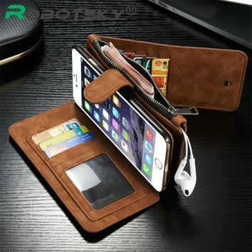 Case Cover for iPhone i6 6s Leather Wallet 6 6S 4.7 Ich 6S Plus 5.5""
