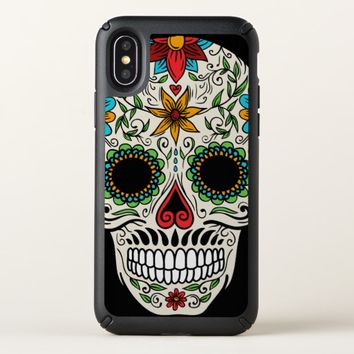 Day of the Dead Sugar Skull Speck iPhone X Case