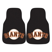 San Francisco Giants MLB Car Floor Mats (2 Front)
