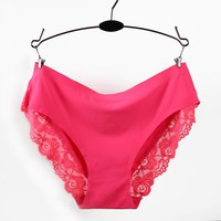 LY9019  2016 New Arrival  Underwear Women Sexy Lace Panties Women Plus Size Cute Women Lingerie