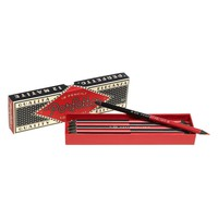 Perfetto Red and Black Boxed Pencils