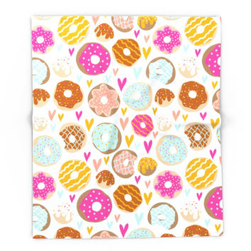 Society6 Donut Love Blanket