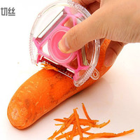 On Sale Easy Tools Cute Hot Sale Kitchen Helper Home Stylish Hot Deal Peeler 3 In 1 Knife Shredding Device [6033500289]