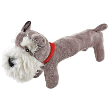 Plush Schnauzer Dog Toy