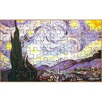EuroGraphics Starry Night by Vincent Van Gogh Mini Puzzle (100-Piece)