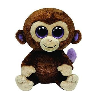 "TY Beanie Boos Original 6"" 18cm Coconut the Monkey Plush Stuffed Animal Collectible Soft Doll Toy 2017 New Gifts for Children"
