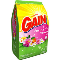 Gain Powder Detergent, Floral Fusion, 53 oz