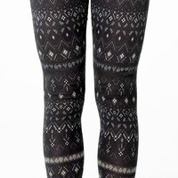 Fall Winter Leggings Tribal Leggings Soft Warm Flannel Leggings Yoga Fitness Workout Pants Tights Streetwear Women Clothing Fashion