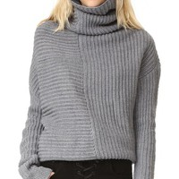 Drape Knit Sweater