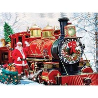 Christmas Express 1000 piece jigsaw from SunsOut Multi-Colored - Walmart.com