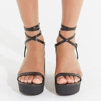 UO Claire Lace-Up Platform Sandal | Urban Outfitters