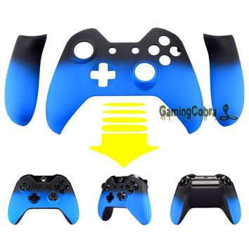 Shadow Light Blue Custom Front Housing Shell Case Panel for Xbox One Controller #ZXOMSF17