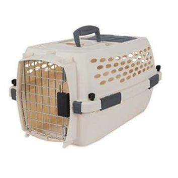 Petmate Vari Portable Fashion Travel Pet Kennel Sz: Small 21""