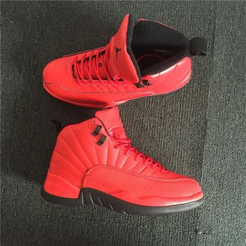 Nike Air Jordan 12 Retro Men Basketball Shoes Red Size 40-46