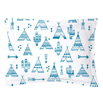TeePee City Pillow Shams