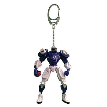 Indianapolis Colts Keychain Fox Robot 3 Inch Mini Cleats