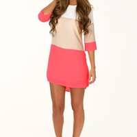 Color Block Babe Dress: Multi