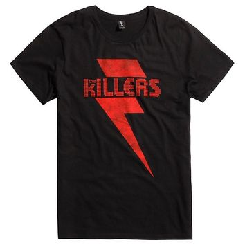 The Killers Red Lightening Logo T-Shirt