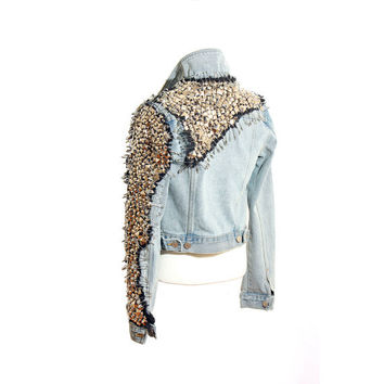 Studded Denim Jackets