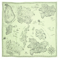 Mapview Storyteller Scarf