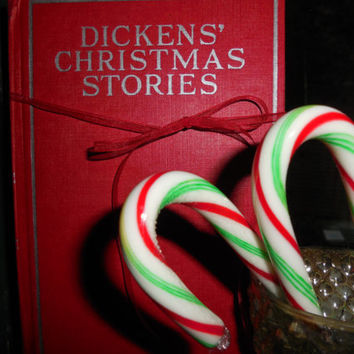 1930 Collection Vintage Illustrated Dickens Christmas Stories by The World Syndicated Publishing Co.