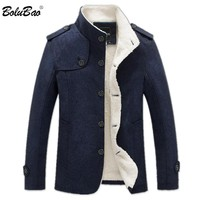 BOLUBAO 2018 Winter Jacket Men's Fashion Windbreaker Quality Military Men Jacket Coat Brand Men Jackets