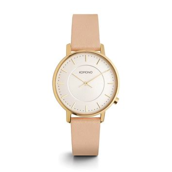 KOMONO Harlow Watch in Pastel Cinnamon