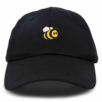 DALIX Bumble Bee Baseball Cap Dad Hat Embroidered Womens Girls