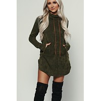 Likable Knit Sweater (Olive)