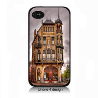 Unique Building iphone 4 cell phone case, cover