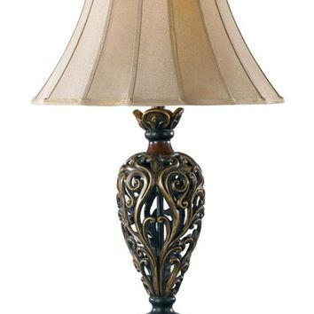 Iron Lace Table Lamp - Accent Lamps -  Table Lamps -  Lighting | HomeDecorators.com