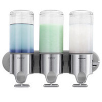 The Container Store > simplehuman® Shampoo & Soap Dispensers