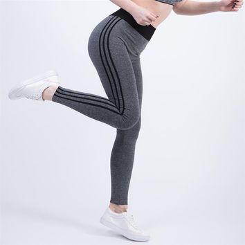 Sport Women's Sexy Leggings For Adventure Time Bodybuilding Workout Clothing Quick Drying Elastic Women Yoga Pants