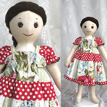 Handmade American Girl Doll Clothes to Match by BerryPatchUSA