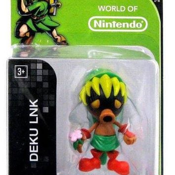 World Of Nintendo 2.5 Inch DEKU LINK Zelda Figure