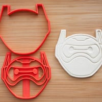 Baymax. Big Hero 6.  Cookie cutters.